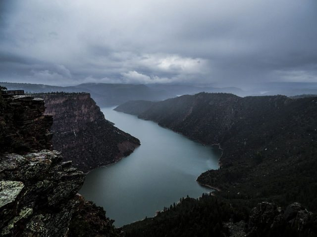 A Non-Fisherman's Excursion to Flaming Gorge in Pictures