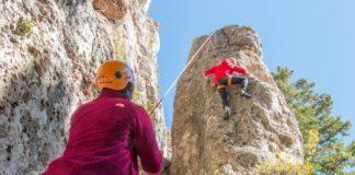 Climbing Wild Iris, Utah
