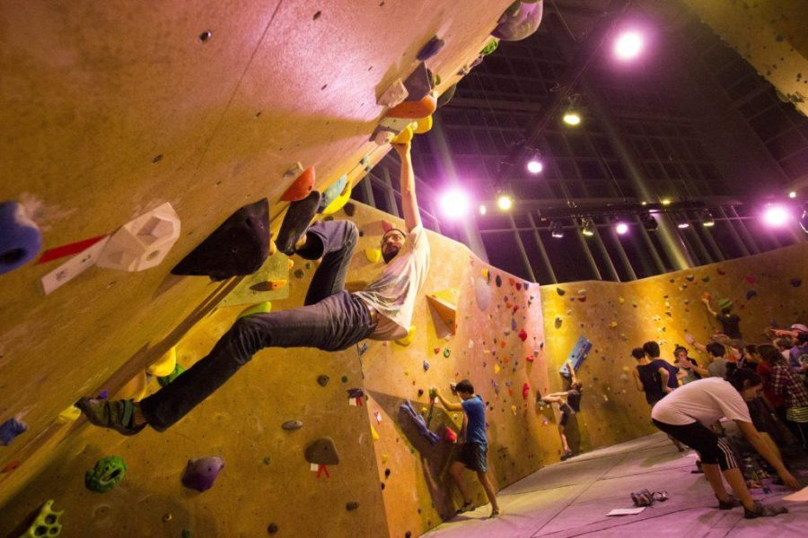 Bouldering Competition Tonight