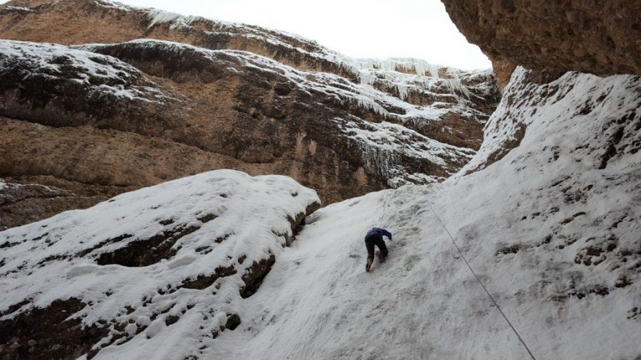 Find Your Pitch, Ice Climbing close to home