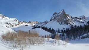 Winter Hike to Lake Blanche