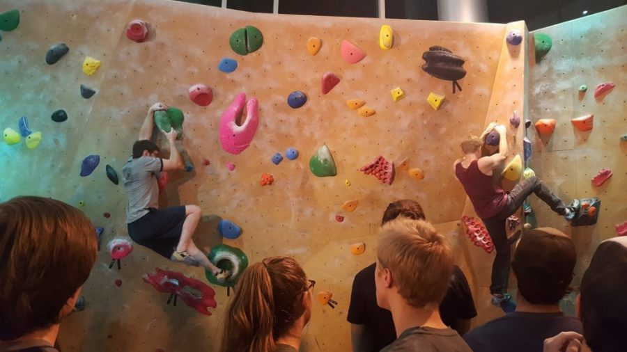 ASUU Hosts Climb-a-Thon