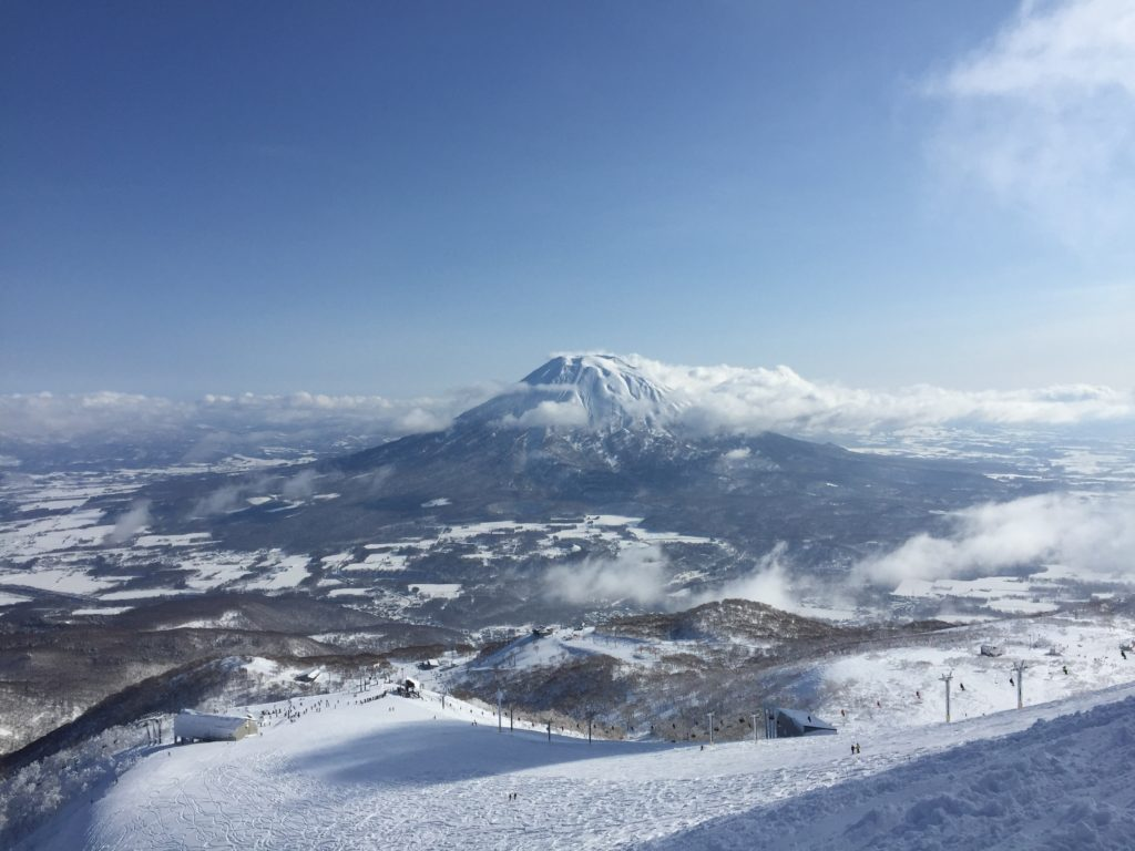 Niseko, Japan in January, 2017.