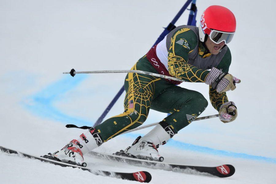 University of Utah men's ski team hosts the Utah Invite and vaious teams compete in the Giant Slalom at Park City, Utah (Park City Mountain Resort) on Wednesday, January 6, 2015