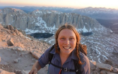 U Student Goes for Her PhD in Through Hiking: Caroline Himbert Hikes Thousands of Miles and Raises Money for Cancer Research