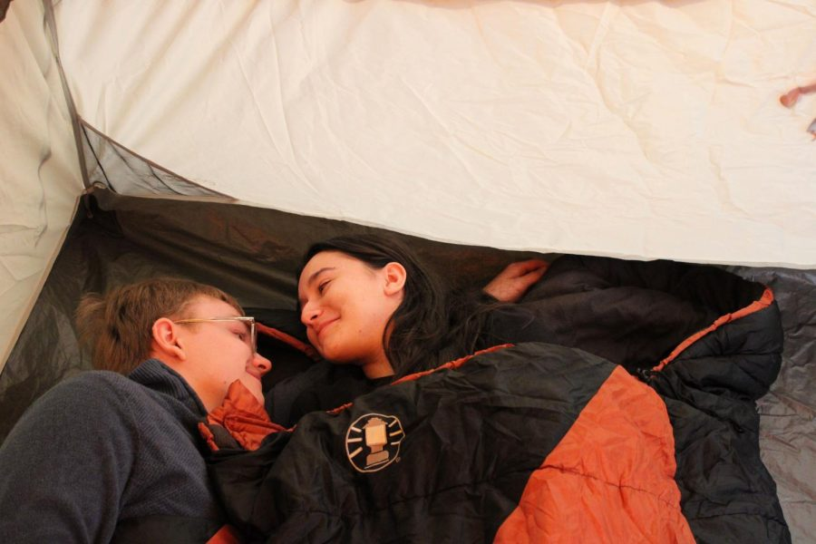 The Joy of a Shared Sleeping Bag