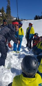 Photo courtesy of the Utah Avalanche Center