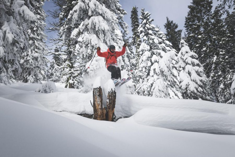 The Low Snow Backcountry Skiing of Idaho: A Photo Series