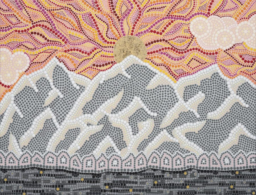 Dotted Mountain Majesty With Artist Elizabeth Walsh