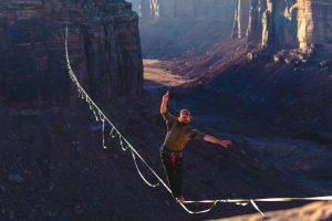 A New U.S. Record for Longest Highline